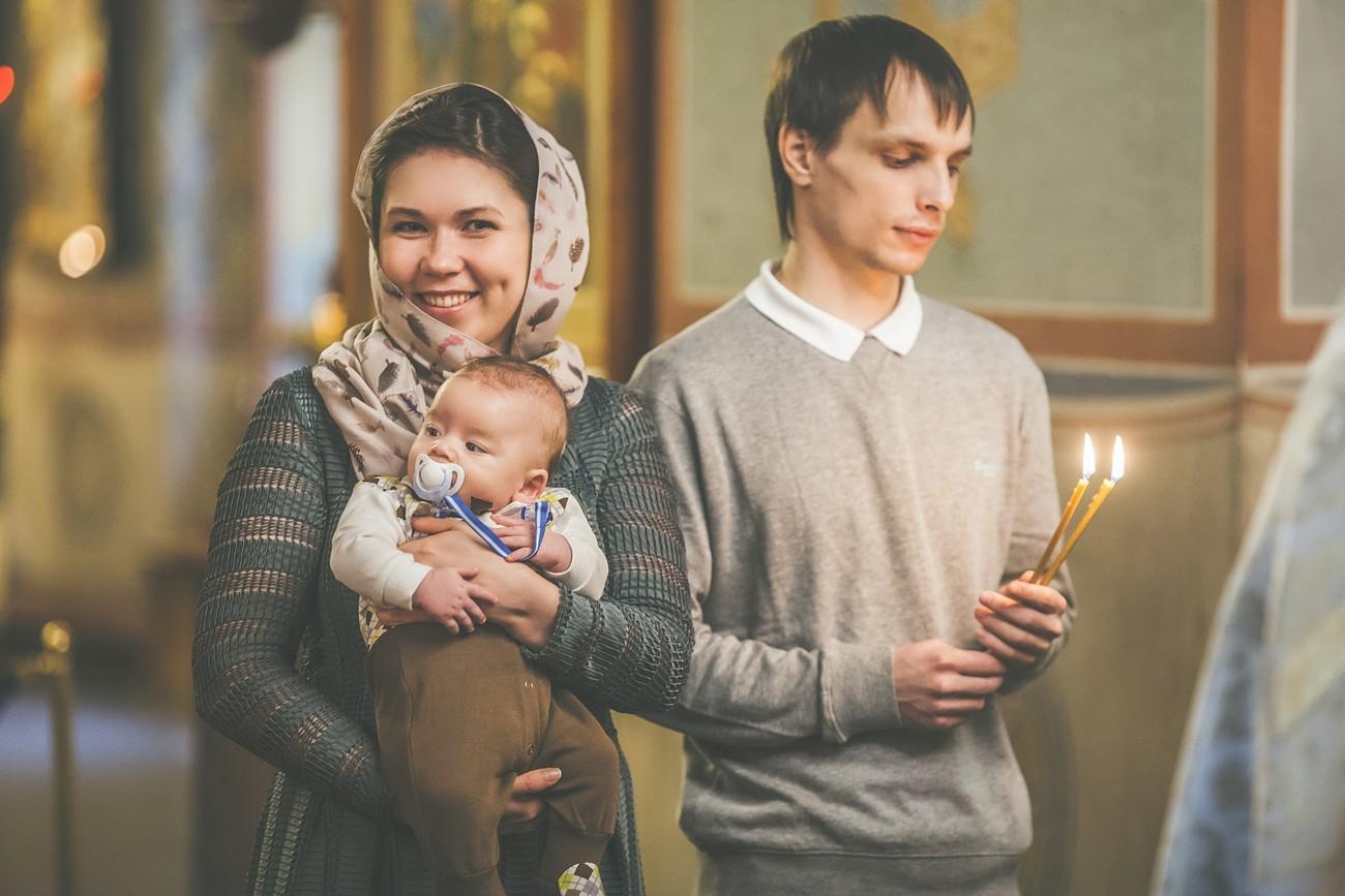 крещение в Москве фотограф