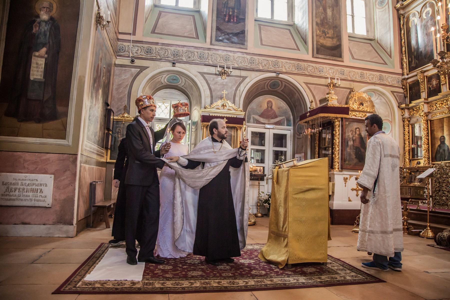 фотосъемка веннчания